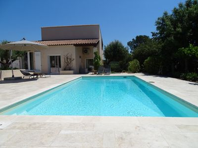 Photo for Peaceful villa-private pool heated-optimal privacy, Frejus Cote d'Azur