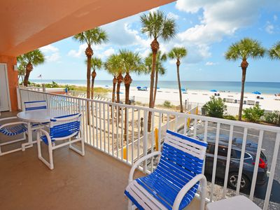 Photo for AMAZING Sand Castle II # 2206 GULF FRONT Condo Spiral Staircase to Pool & Beach