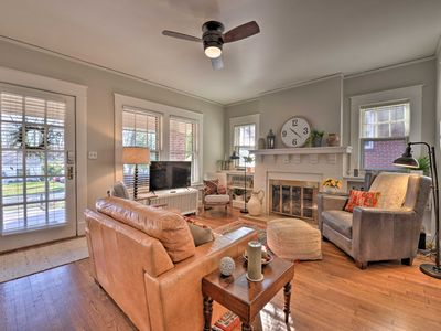 Photo for NEW! Vintage Cottage < 1 Mile to UNC Greensboro!