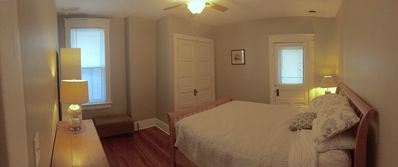 One of two beautiful bedrooms