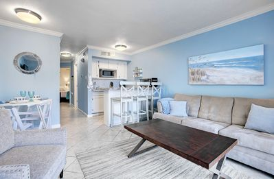 Photo for Modern, Beachfront condo w/the comforts of home!