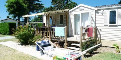 Photo for Camping Les Chenes Blancs **** - Mobile home 4 Rooms 7 People