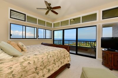 Master Bedroom with Sweeping Views