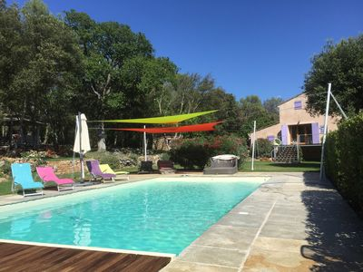 Photo for Unique Experience! your flowers Bastide on 3 hectares of vineyards, lavender, olive trees!