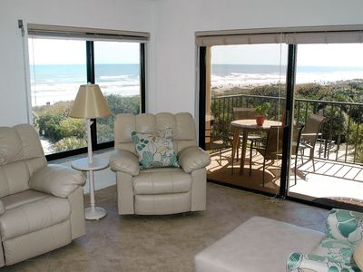 Photo for 2 Bed/2 Bath Corner Unit with Balcony Overlooking Atlantic Ocean, Beach Front!
