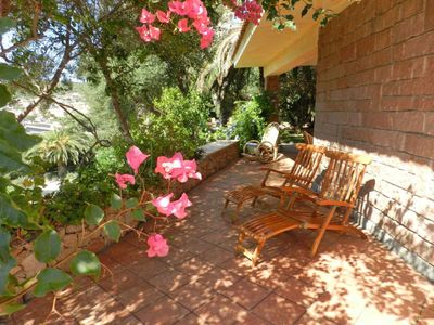 Photo for Wonderful private villa for 12 guests with WIFI, private pool, A/C, TV, pets allowed and parking