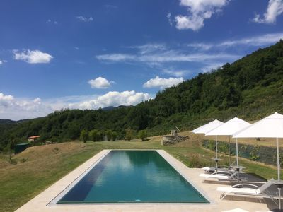 Photo for SPECIAL OFFER! Villa P. Gaia 10P pool 5x20, free Wi-Fi, BBQ, near Cinque Terre