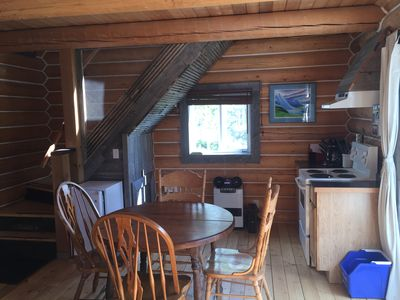 Photo for Log Cabin with Amazing Mountain & Lake Views (pet-friendly)