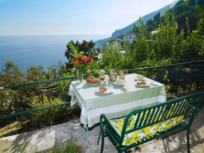 Photo for One bedroom Apartment, sleeps 2 in Amalfi with Air Con and WiFi