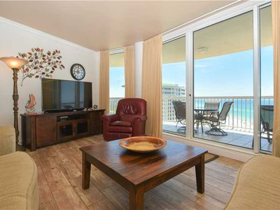 Photo for Beachfront Condo with Free Beach Service. Semi-Private Elevator Access to Condo