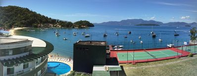 Photo for Wonderful flat overlooking the sea of Angra dos Reis