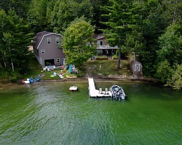 Photo for Beautiful modern cottage on 135 feet of frontage on All Sports Little Bear Lake
