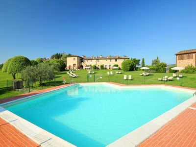 Photo for 6 bedroom Apartment, sleeps 13 in Luiano with Pool, Air Con and WiFi