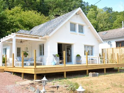 Photo for Beautiful villa on the banks of the Meuse, very nice terrace, garden furniture