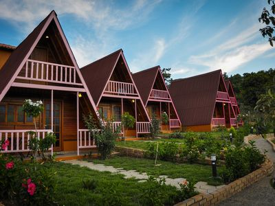 Photo for Furnished and air-conditioned chalets 150 meters from Capão Chapada Diamantin Village