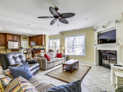 Photo for Stay on OCMD Boardwalk! Huge Family Friendly Townhome w/ Pool, Wi-Fi, Mini-Weeks Available!