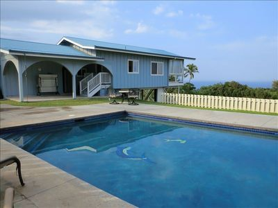 Photo for Hamakua Coast Home- Ocean Views, Private, Clean, Friendly