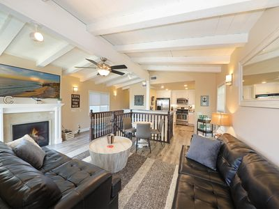 Photo for Coastal Beach Bliss - Completely Remodeled Duplex - 7 Doors from the Sand