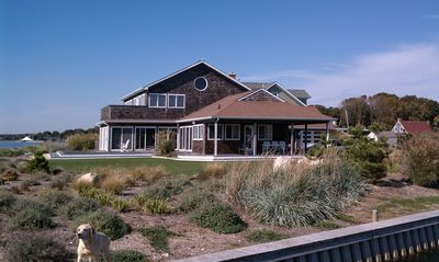 Photo for Large Waterfront House with Amazing Views and Wraparound Decks. Near Hamptons