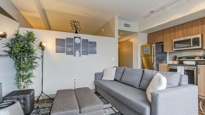 Photo for Have a perfect staycation in this 1BD condo with washer/dryer