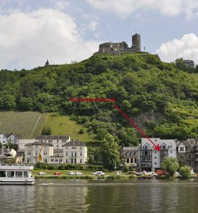 Photo for Luxurious 5 ***** apartment with a balcony to the Mosel