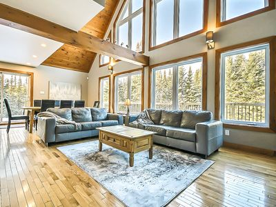 Photo for Ski Cabin Well located / Convenient to Mont-Tremblant's North Hill, w Hot tub