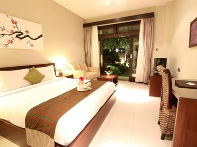 Photo for Deluxe Room in Jimbaran Area, Small Resort with Balinese Feel