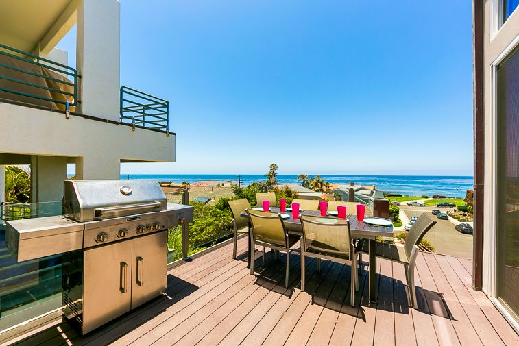 Gorgeous, Remodeled House w/ Large Deck, Ocean Views & Walk to Beach!