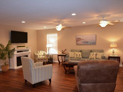 Photo for QUICK WALK TO REHOBOTH BEACH & BOARDWALK ONE LEVEL BRAND NEW HOME SLEEPS 12
