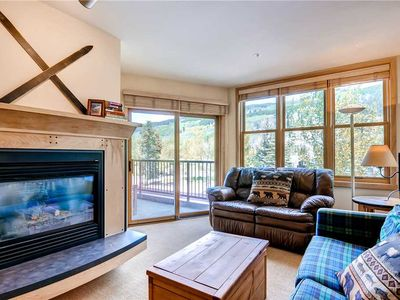 Photo for Terrific condo with private balcony, great summer mtn views