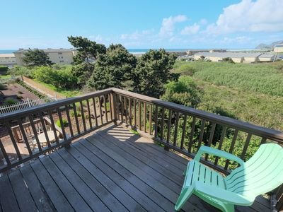 Photo for Ocean View , Close to Casino , backs to wildlife green space  Hot Tub