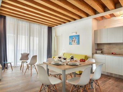 Photo for Balanzone 14 apartment in Cannaregio with WiFi, integrated air conditioning, balcony & lift.