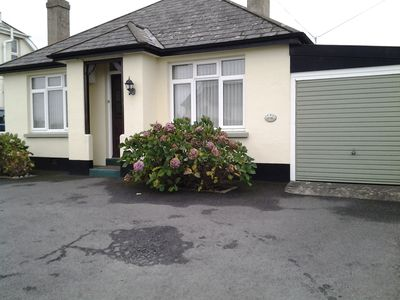 Photo for Bungalow suitable for families easy flat walk to beach and shops