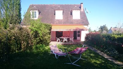 Photo for Pretty calm house in charming village (SAMOIS / SEINE near Fontainebleau)