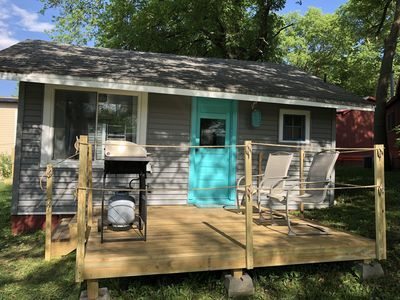 Photo for 2BR Cottage Vacation Rental in arnolds park, Iowa
