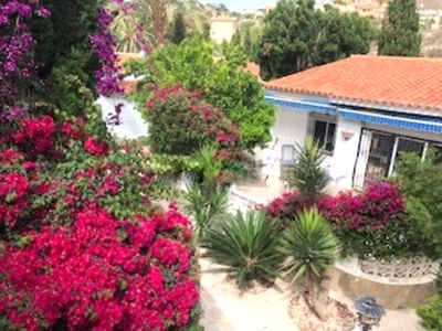 Photo for GREAT BUNGALOW FOR 4 PERSONS, A/A, NEAR TO THE SEA WITH BBQ, GARDEN, SAT. T.