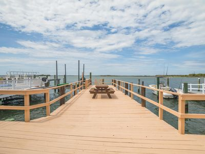 Photo for BAYDREAM BELIVER II - BAYFRONT PROPERTY with Boat Slip