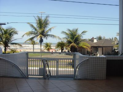 Photo for BIG BEACH APARTMENT WITH GARAGE - IN FRONT OF THE SEA - FOOT IN THE SAND !!!