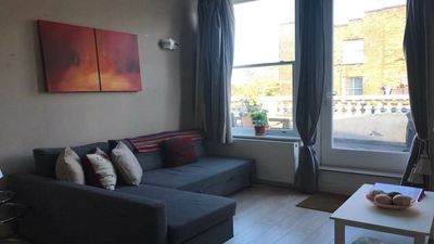 Photo for 1-bed apartment with private terrace in London Zone 2
