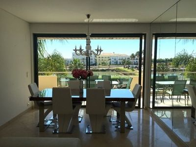 Photo for VilamouraSun Aquamar 110 - Beautifully Furnished with Pool and Marina View