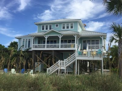 Photo for Palm Island Beach Front House - Floridays