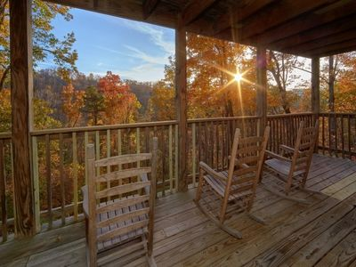 Photo for Cabin With a View in Sevierville!