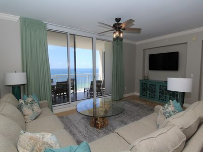 Photo for Indigo West 1403- Beach Front View with Luxurious Interior and Amenities!