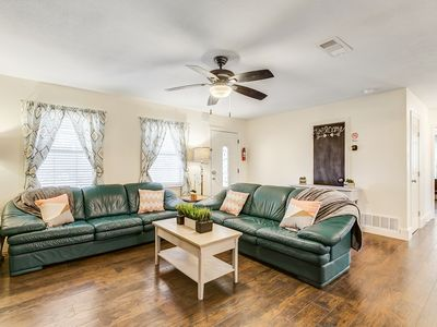 The Bridge St. Bungalow in Granbury, TX. Come, relax, and enjoy.