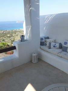 Photo for Panoramic view,  romantic,  villa near the beach.
