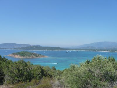 Photo for Charming Villa - exceptional view of the bay of St Cyprien- near beach
