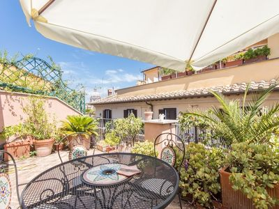 Photo for Apartment in the center of Rome with Internet, Air conditioning, Lift, Terrace (9717)