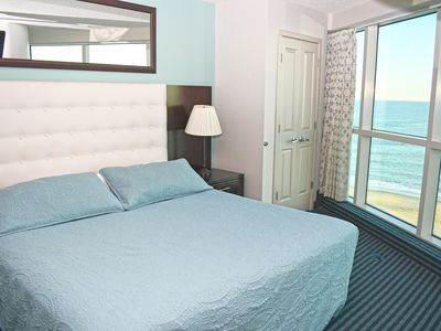 Photo for Wake up to Ocean Views and City Views  from this Wonderful Family Corner Suite