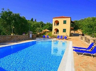 Photo for Apartment In Kassiopi With Swimming Pool, Bbq And Private Parking