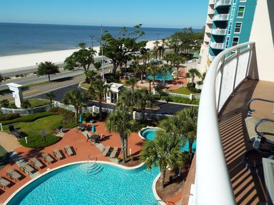 "Photo for Legacy Towers 1 504 ~ ""Southern Breeze"" Gulf Front Condo"